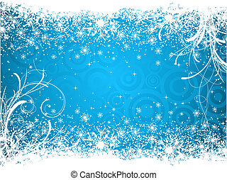 snowflakes and stars