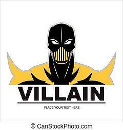 Great Villain in yellow - villain, masked villain, poison...
