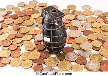 Business Money Concept Idea - Picture of a Business Money...
