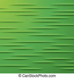 Abstract vector background with green layers - Abstract...