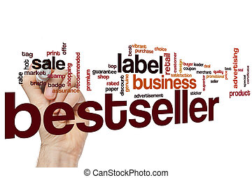Bestseller word cloud concept
