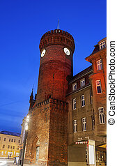 Spremberger Turm. Cottbus, Brandenburg, Germany - Germany