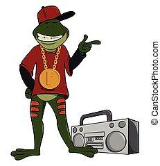 Rapper frog