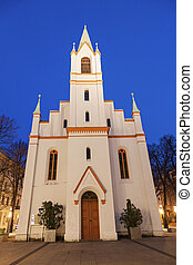 Schlosskirche at sunset - Schlosskirche during the sunset....