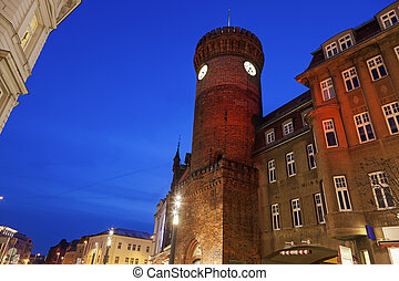 Spremberger Turm in Cottbus Cottbus, Brandenburg, Germany