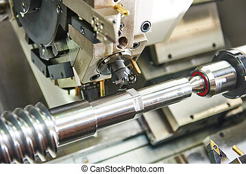 cutting tool at metal working - metalworking industry: mill...