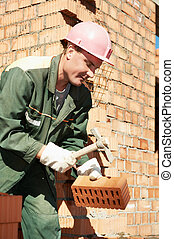 construction worker bricklayer - construction worker. mason...