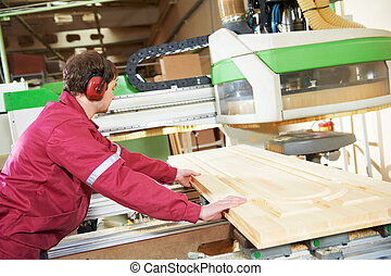 carpentry wood door manufacture