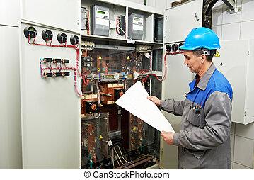 electrician engineer worker - electrician builder engineer...