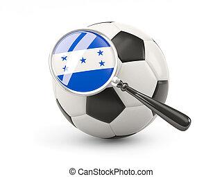 bandera, fútbol,  honduras, magnificado