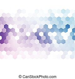 Vector, Abstract, 3D, hexagonal., ,