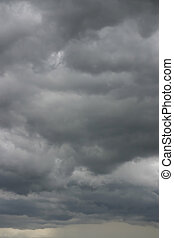 storm - turbulent stormy cloudscape background