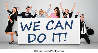 We can do it word