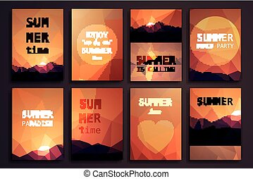 Summer Design Templates