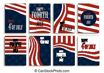 Independence Day - Vector Illustration of Independence Day...