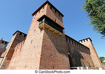 Castle Fortress (Castelvecchio) - The famous and old brick...