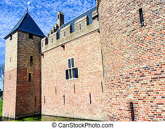 Radbout - Radboud Castle at Medemblik in holland