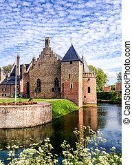 Radbout - Radboud Castle at Medemblik in holland