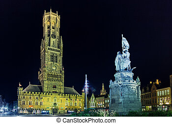 Bruges is the capital and largest city of the province of...