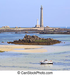 Ile Vierge and his lighthouse - The tallest lighthouse in...