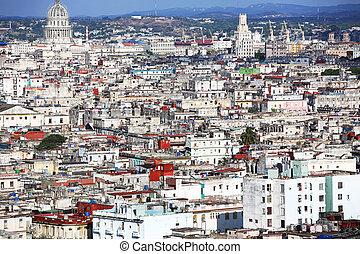 Centro Habana Cuba - view at Centro Habana, Cuba