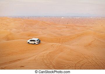 jeep car in desert safaris, United Arab Emirates