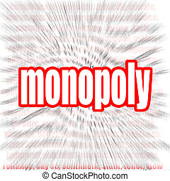 Monopoly word cloud image with hi-res rendered artwork that...