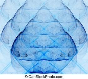 azul, vidrio