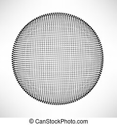 Circle Isolated on White Background