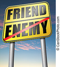 best friends or worst enemy - friend enemy best friends or...