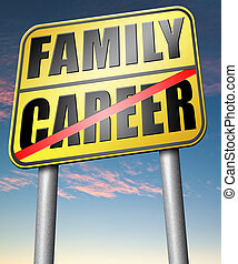 career family balance - family versus career balance in work...