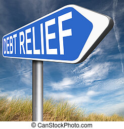 debt relief after bankruptcy caused by credit or housing...