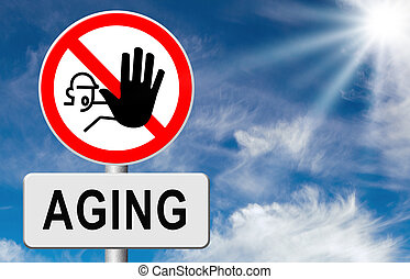 stop aging