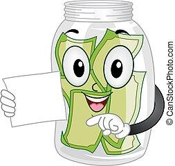 Mascot Tip Jar