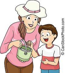 Kid Boy Mom Pick Shell