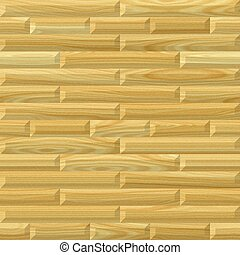 Wood paneling - Illustration of the paneling from the light...