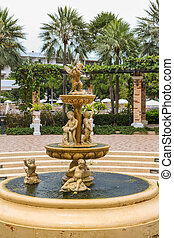 Fountain with little angels