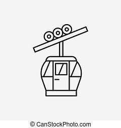 cable line icon