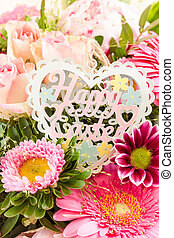 Flowers for easter - Colorful spring flowers for a happy...