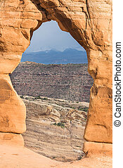 Delicate Arch - Detailed photo of a Delicate Arch with a...