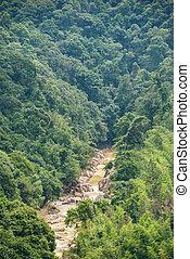 river among the hills