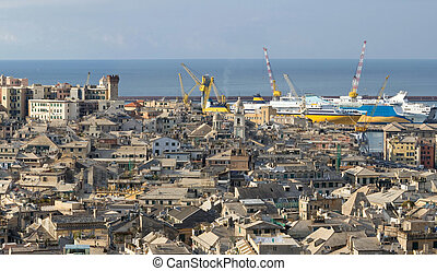 Genova, the old town