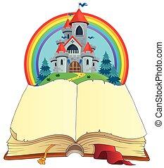 Fairy tale book theme image 2