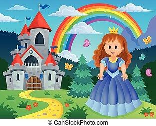 Princess theme image 3 - eps10 vector illustration.