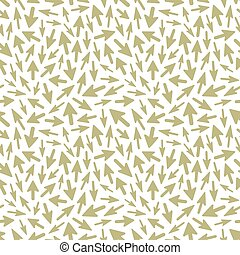 Arrows. Seamless pattern. - Arrows. Seamless abstract...