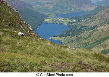 Buttermere and Crummock Water - Buttermere, Crummock Water...