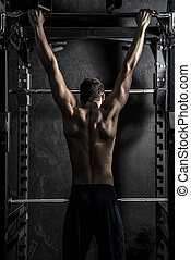 Bodybuilding Pull-ups  Fitness Bar