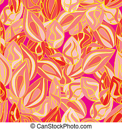 autumn leaves seamless pattern - a seamless pattern...
