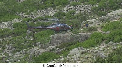 4K, Helicopters in Restonica Valley, Corsica