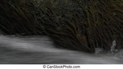 flowing and splashing water - Native Camera Output, 4K,...